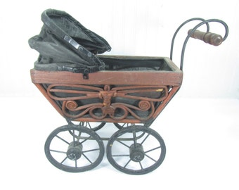 Vintage doll buggy – Etsy