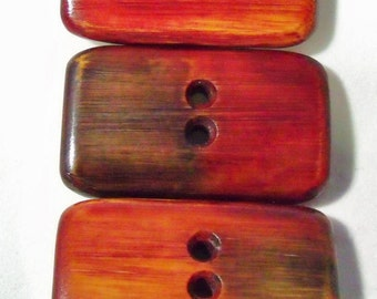 Hand Carved Bamboo Wood Buttons For Your Best Hand Knit Sweater Project