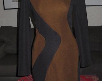 Vintage Womens Joseph Ribkoff Dress , Size 6 , Swirl pattern
