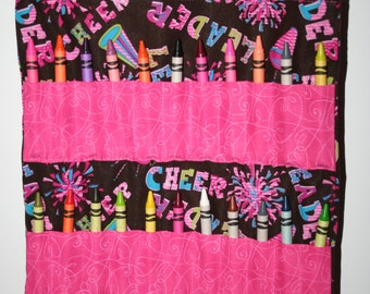 Cheerleader Crayon Bag