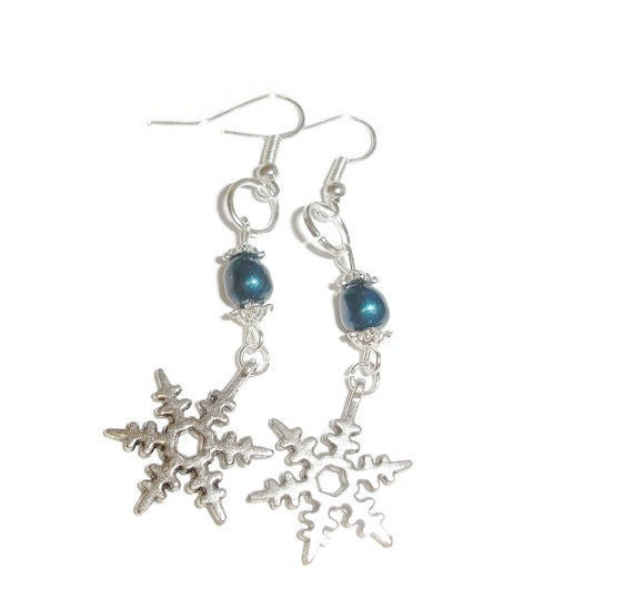 swarovski snowflake earrings simple swarovski snowflake earrings 1 5 dangle 7444