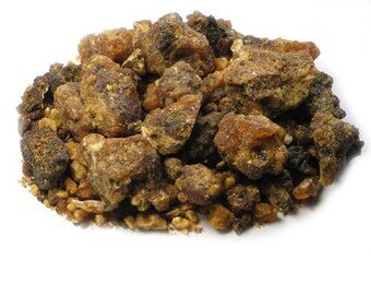 Myrrh (Commiphora Myrrha) resin incense U-pick size 2oz, 4oz, 8oz, 16oz