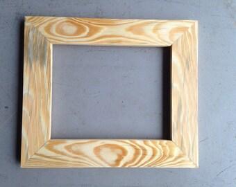 8x10 Pine Wood Frame,