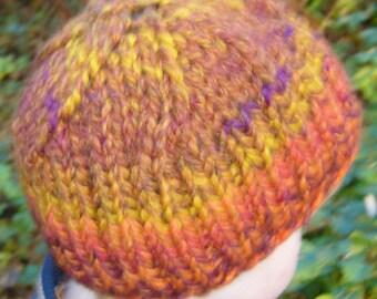 Hat in autumn colors