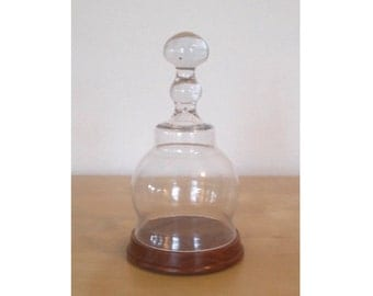 Bell Shaped Display Dome/Cloche