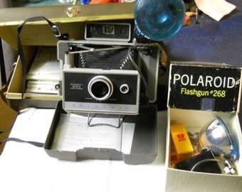 vintage Polaroid 330 camera