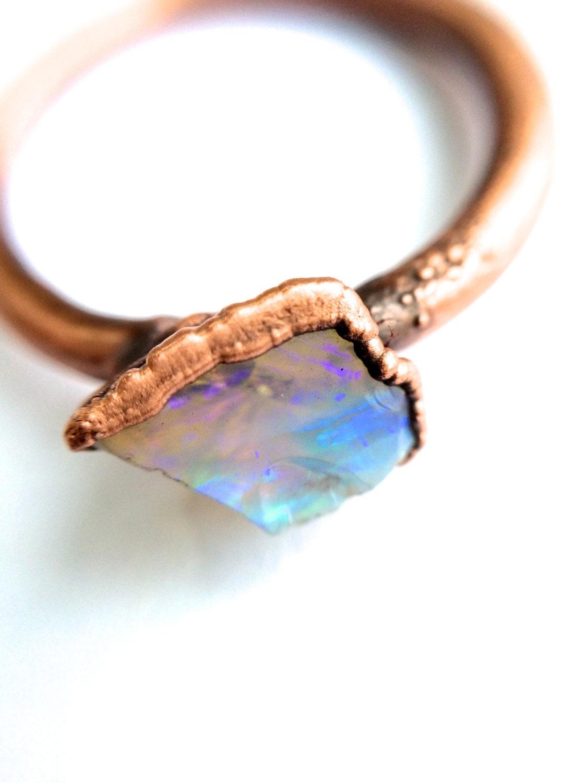 genuine opal jewelry australian opal ring opal ring