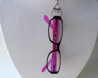 Eyeglass Retainer Eyeglass Holder Pendant Necklace
