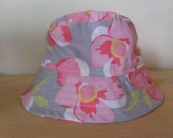 Girls Floral Bucket Hat