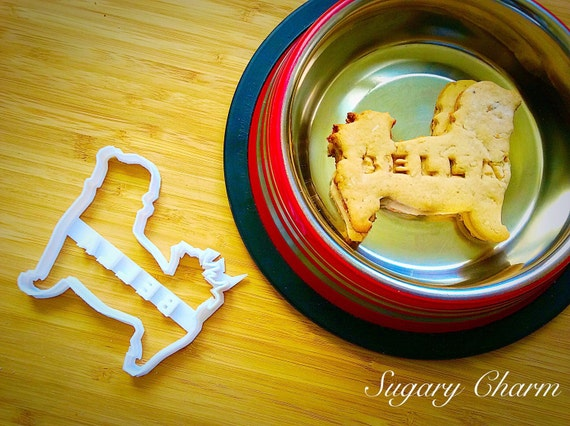 Personalized Maltese cookie cutter