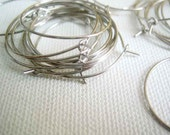 Wine Glass Charms blanks wire rings findings 25 pieces