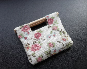 Miniature knitting/sewing bag - without contents