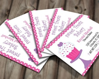 Bakery business card Etsy