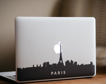 Paris Skyline MacBook Decal Sticker - by FP - DecalGirl