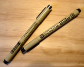 Signing Markers for Guestbook - Includes 2 Pigma Micron 05 Markers