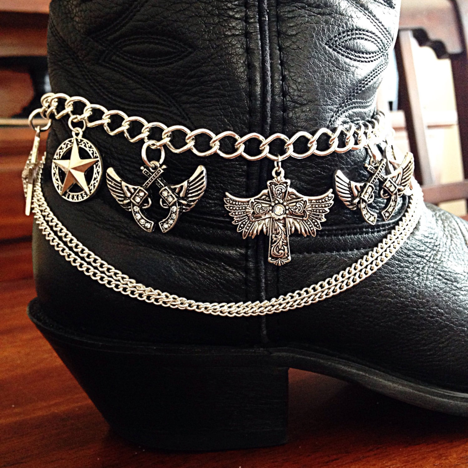 boot chain boot jewelry boot bracelet boot bling boot