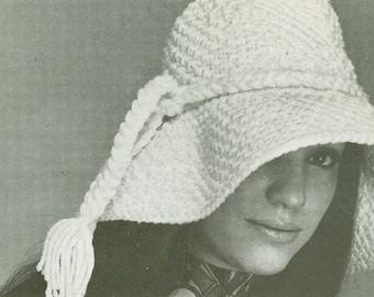 Twenties Flip Crocheted Hat Pattern