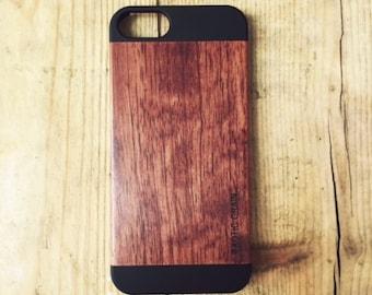 IPHONE 5/5s Rose wood case