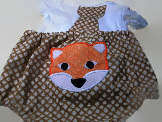 ON SALE 12 Month Baby Boy Clothes BabyBoy Fox Outfit Baby
