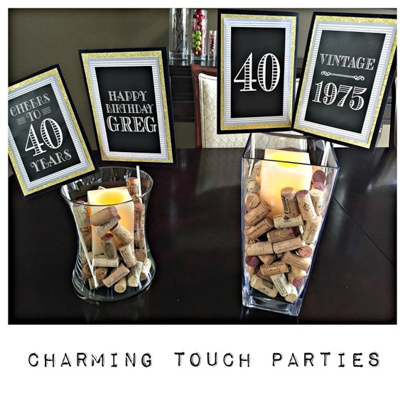 Adult birthday party decorationsmilestone 40th birthday50th for 40 birthday decoration ideas