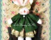 Handmade Primitive Easter Bunny Free Shipping! Use code WINTER2015