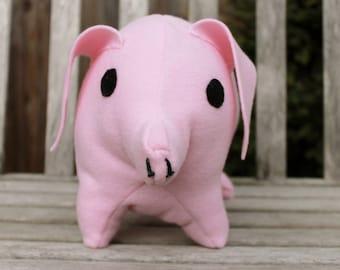 Large Pink Pig Stuffed Animal, Pig Plush Pillow, Farm Animal Pillow, for Kids, Children, and Teens