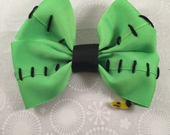 Oogie Boogie- Tim Burton's Nightmare before Christmas Inspired Bow