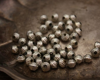 Vintage Style Metalicized  Beads