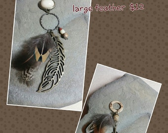 Pheasant Feather Pendant
