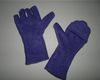 Women's Gloves with Fingerless Option