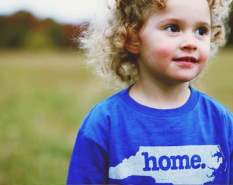 North Carolina home tshirt KIDS sizes The Original home tshirt