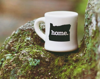 Oregon Ceramic Coffee Mug