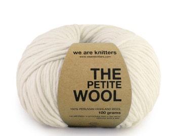 100% Petite Peruvian Wool - Natural