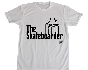 Skateboard T-shirt - the skateboarder