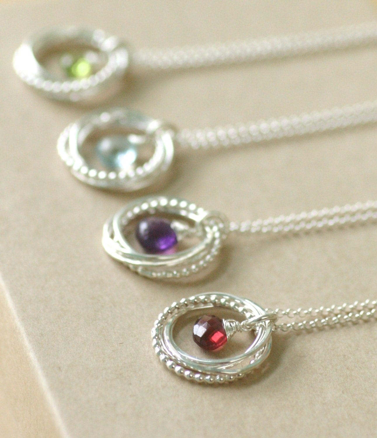 4 best friend necklaces bridesmaid jewelry set of 4