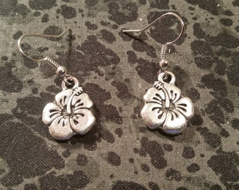 TierraCast Hibiscus Earrings