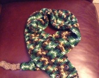 Snake scarf
