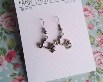 Scooter earrings