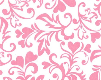 Michael Miller - SWIRLY HEARTS - CX6707-PINK-D