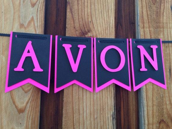 Avon party Banner