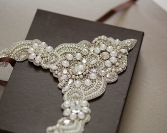 Bridal  Necklace - Valeria (Made to Order)
