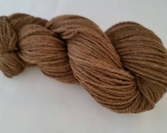 Chocolate Brown Natural Colored Yarn