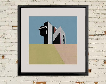 FINE ART PRINT Hand Signed - The Big House - 2015.