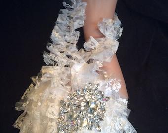 Bridal Purse, Lace Bridal Money Bag, Wedding Purse, Wedding Money Bag,  Bridal Money Bag