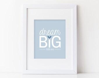 Dream Big Little One Wall Print Nursery Decor | Nursery Decor & Wall Art | As Seen In Pottery Barn Kids