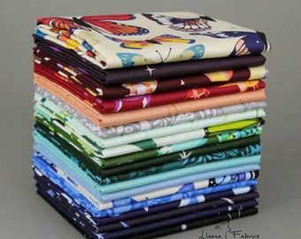 NATURAL HISTORY by Lizzy House - Complete Fat Quarter Bundle Collection