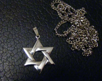 Star of David charm, Star of David, Star of David charm, Star of David sterling silver charm, sterling Star of David