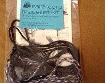 Para cord bracelet kit. Great gift idea!supplies to make 2 complete bracelets.