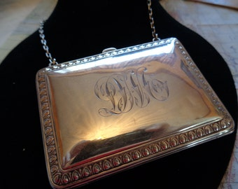 Sterling Silver Evening Purse dated 1909,
