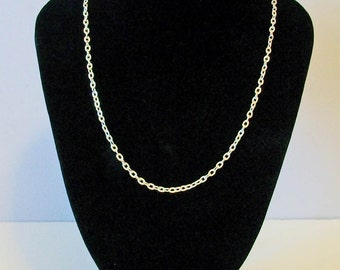 Delicate Silver Tone Rolo Style Chain Perfect with Any Of My Pendants or Charms Choice of 4 Lengths